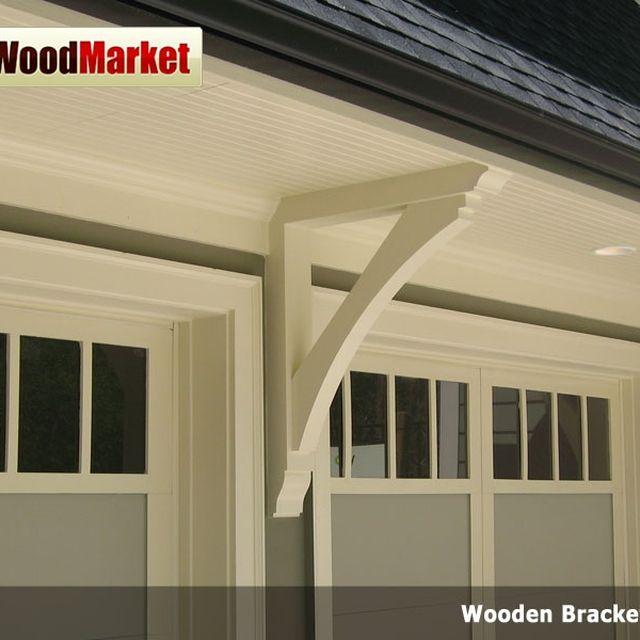 Custom Wooden Cedar Bracket 02t10 by Pro Wood Market | CustomMade.com