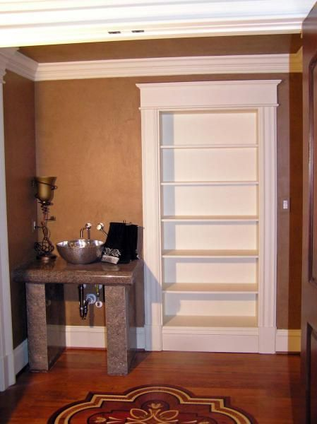 Hand Crafted Concealed Closet Hidden Storage By Dowd