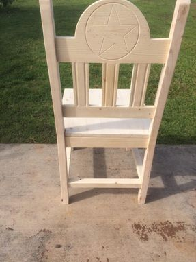 Custom Made Texas Star Dining Chairs