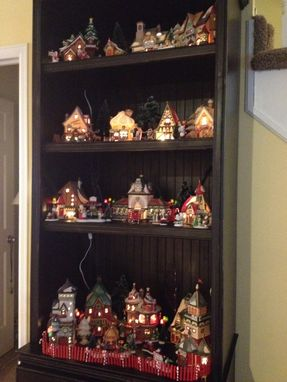 Custom Made Christmas Hutch