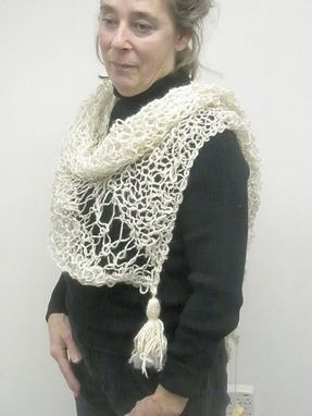 Custom Made Triangular Scarf/Shawl