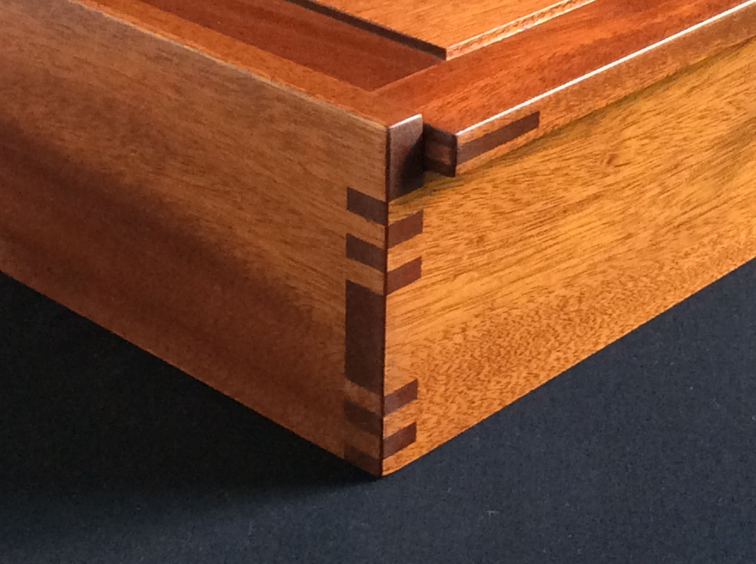 buy a custom small wood jewelry box made to order from david klenk. Black Bedroom Furniture Sets. Home Design Ideas