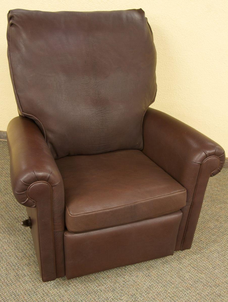 Fantastic Custom Leather Recliner Chair By Dakota Bison Furniture Ibusinesslaw Wood Chair Design Ideas Ibusinesslaworg
