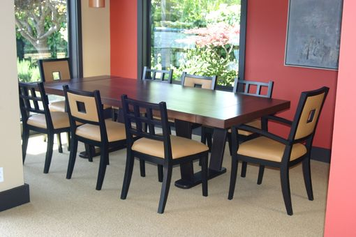 Custom Made Dining Table & Chairs