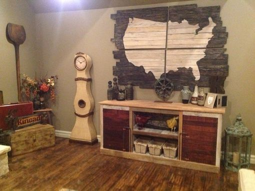 Custom Made Barnwood Entertainment Center (Jenn Collection)