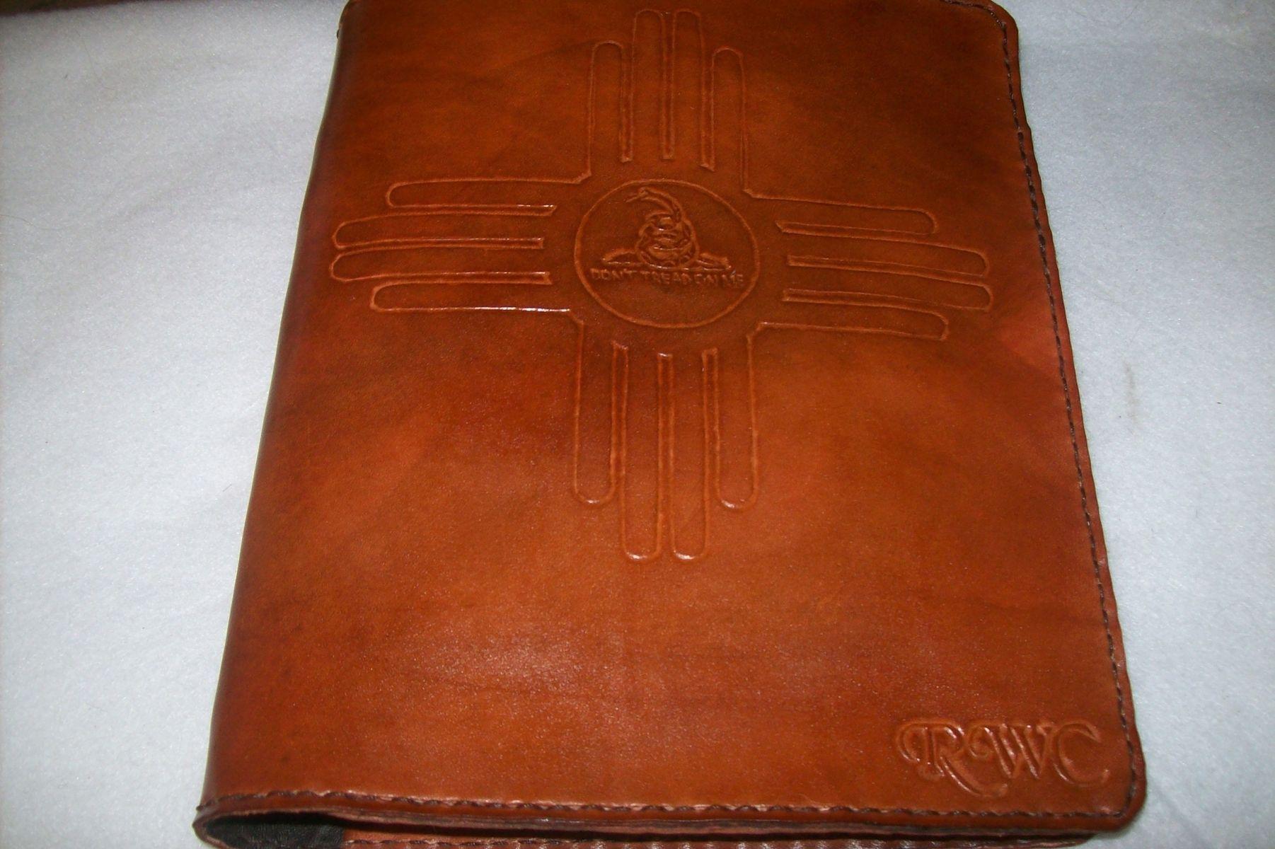 Custom Leather Planner/Binder