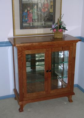 Custom Made Small China Cabinet