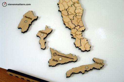 Custom Made Map Puzzles
