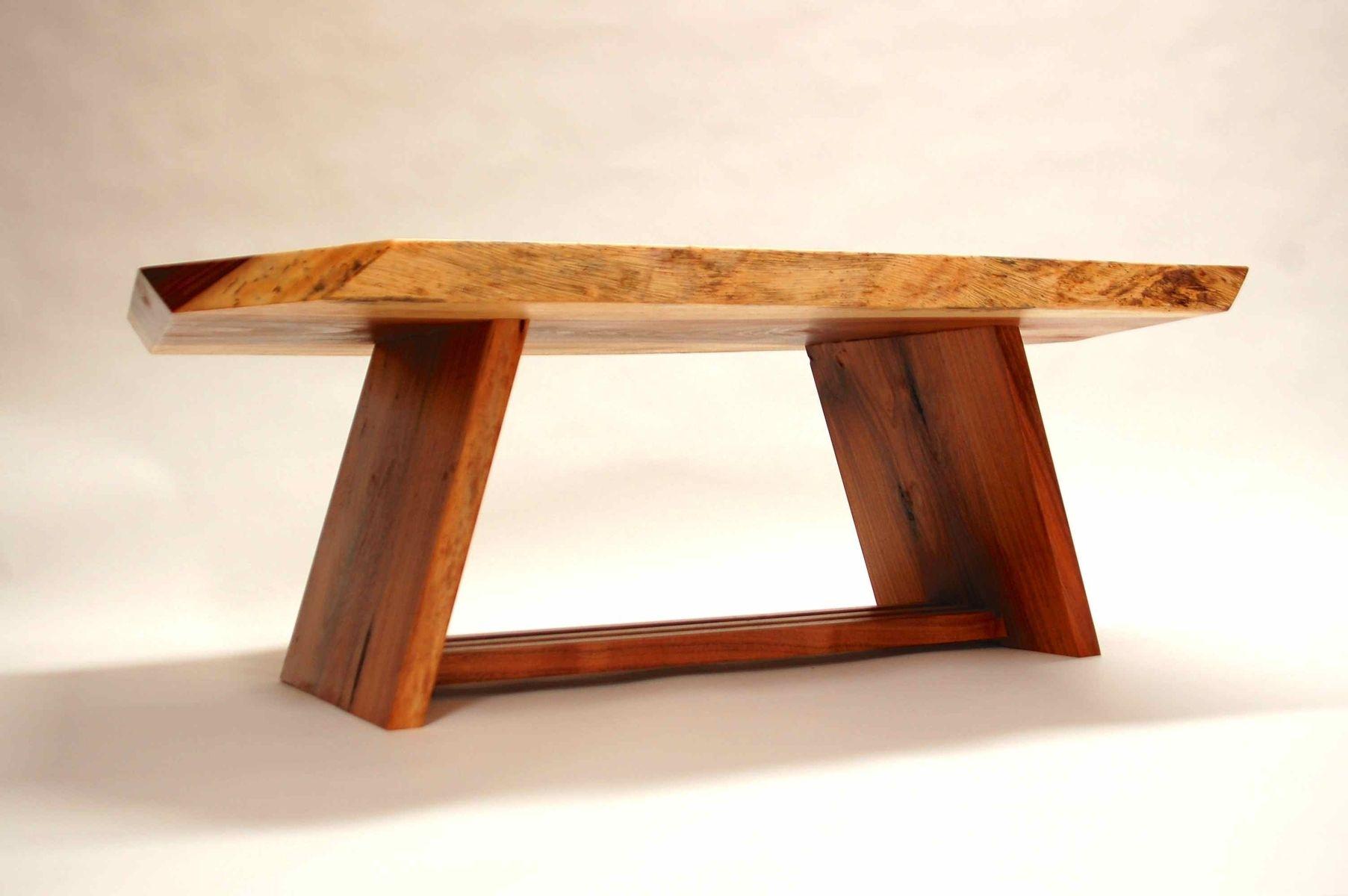 Handmade Acacia Coffee Table by CB Studios