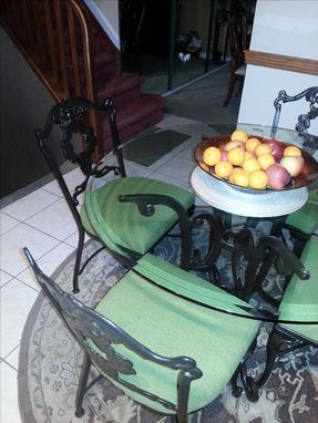 Custom Made Breakfast Table Chairs