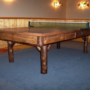 rustic ping pong by