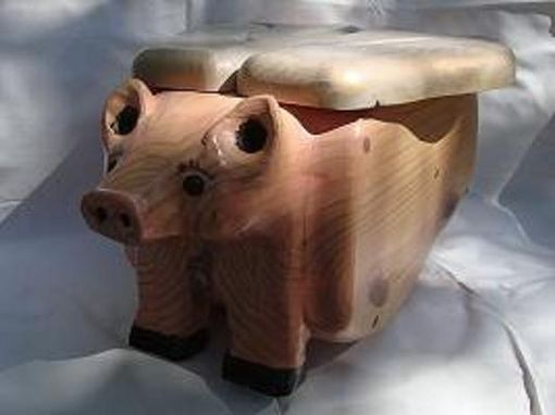 Custom Made Pigs Fly (And Store Treasures Under Wings).