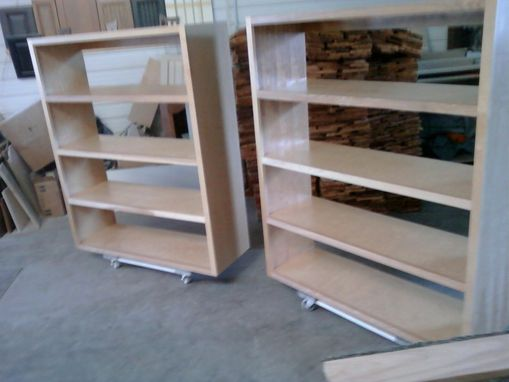 Custom Made Book Cases