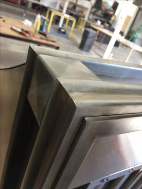 Custom Made #86 Beautiful Zinc Range Hood With Custom Squares