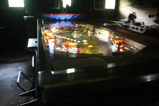 Custom Made Pinball Machine Converted Into Home Office Desk