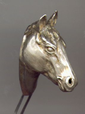 Custom Made Carved Horse Head