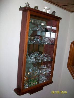 Custom Made Knick Knack Display Case