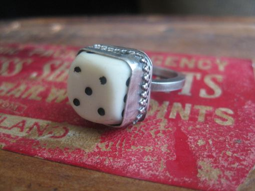 Custom Made High Roller Dice Ring