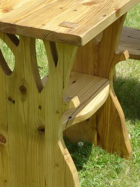 Custom Made Weather Tree End Table/ Nightstand