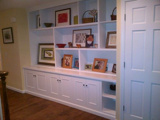 Custom Made Entry Hall Wall Unit.