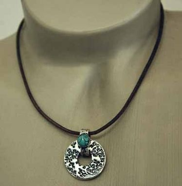 Custom Made Fine Silver - Zen Necklace