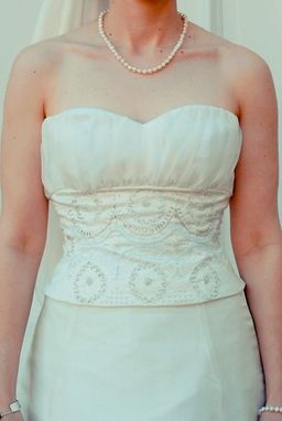 Custom Made Hand-Beaded Wedding Gown