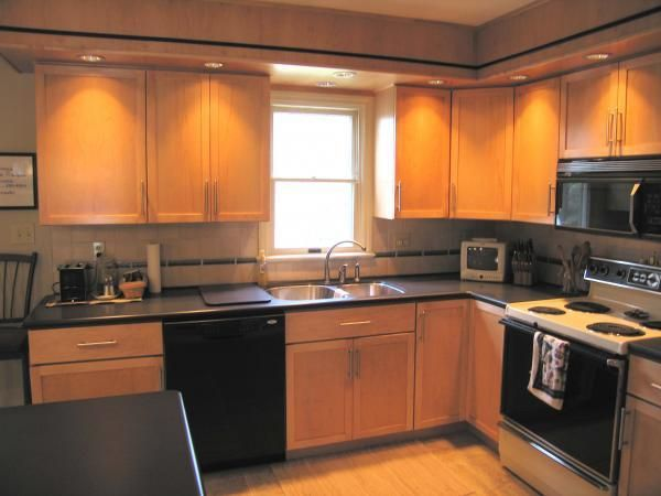 Custom Made Contemporary Maple Kitchen