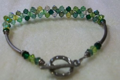 Custom Made Swarovski Crystal Tennis Bracelet