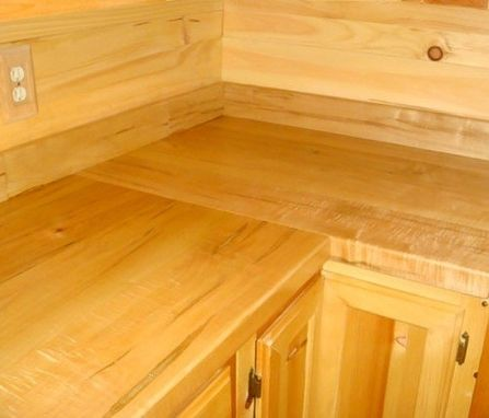 Hand Made Ambrosia Maple Counter Tops By Green River Woods