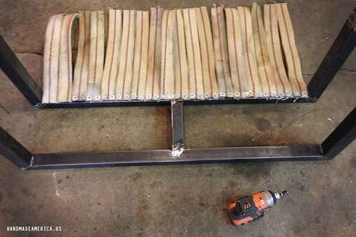 Custom Made Firehose Bench