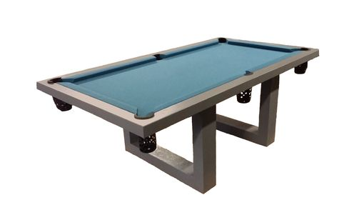 Custom Made Handcrafted, Concrete Indoor/Outdodor Billiard Table
