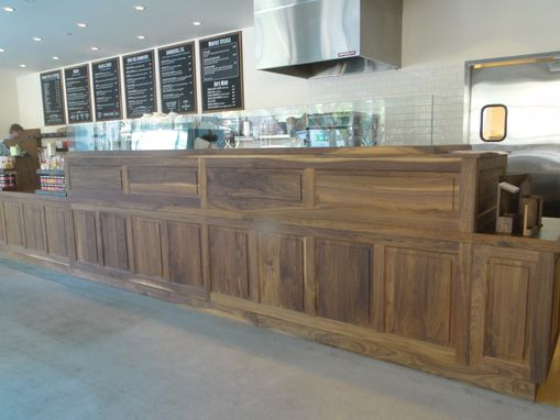 Custom Made Commercial Cabinetry
