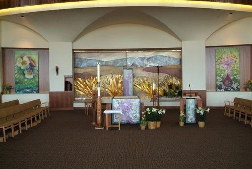 Custom Made Church Or Synagog Banners And Drapings