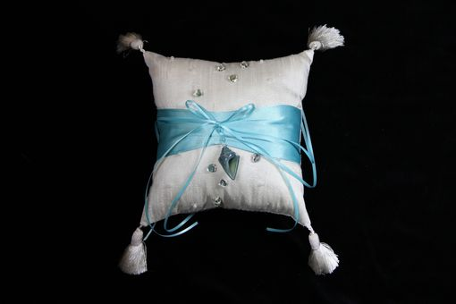 Custom Made Wedding: Pebble Beach Pillow