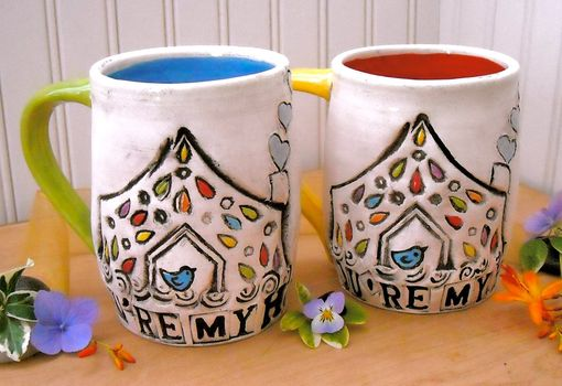 Custom Made Personalized Mug Set - You're My Home - Custom Made To Order Deposit