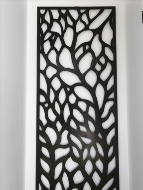 Custom Made Abstract Tree Metal Wall Sculpture Panels