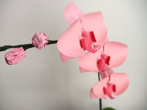 Custom Made Mini Paper Orchids - Pink