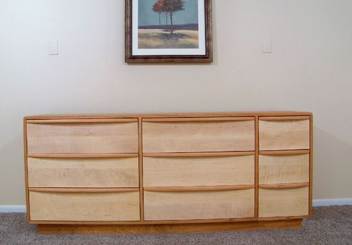 Custom Made 9 Drawer Danish Modern Dresser (Item # 9d833)