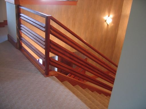 Custom Made Cherry Handrail