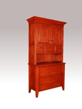 Custom Made Custom Cherry Hutch