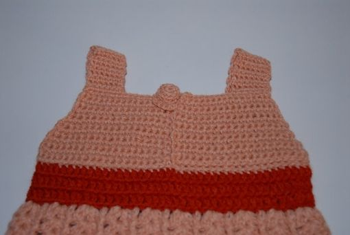 Custom Made Crochet Baby Dress