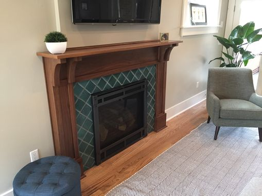 Custom Made Custom Fireplace Surrounds In Denver Hardwood, Paint Grade Wood, And Gfrc Concrete