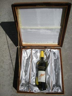 Custom Made Love Letter Wine Box