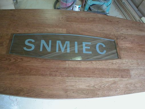 Custom Made Snmiec Conference Room Table