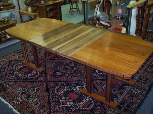 Custom Made Dining Table With Leaves
