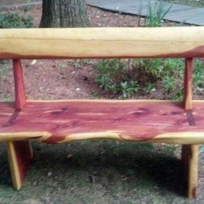 Cedar Garden Furniture Custom outdoor cedar garden benches by clark wood creations cedar garden benches by jay ball workwithnaturefo