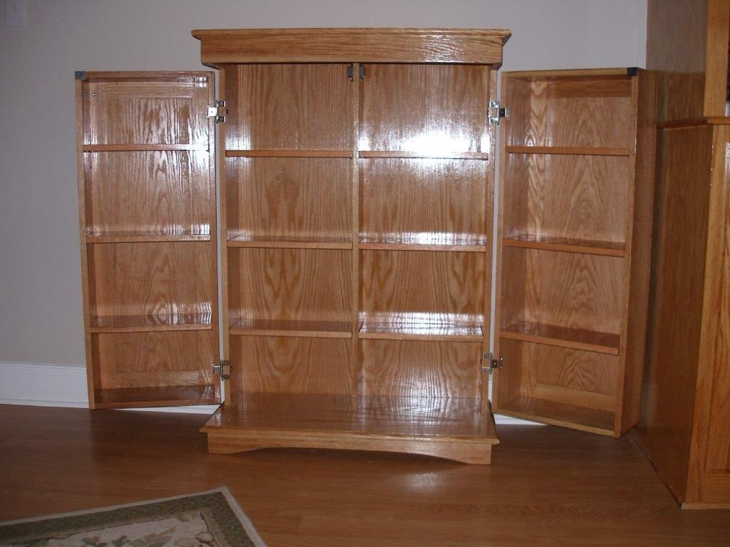 Hand made dvd cabinet by richards woodworking - Custom made cabinet ...