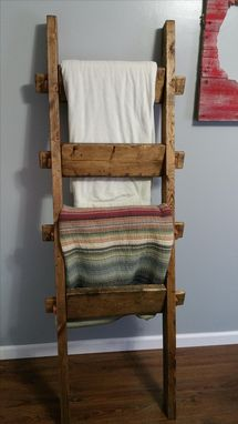 Custom Made Blanket Ladder
