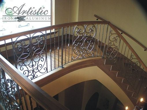 Custom Made Interior Railing