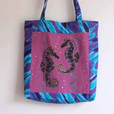 Custom Made T Shirt Tote With Handles